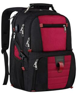 Extra Large Travel Backpack Durable 17 inch Laptop Bag with