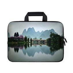 Farm House Decor Laptop Carrying Bag Sleeve,Neoprene Sleeve