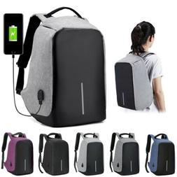 fashion anti theft usb charging travel backpack