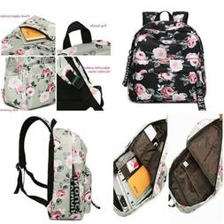 45fe4d7e5dfe Leaper Fashion Floral Laptop Backpack Wo...