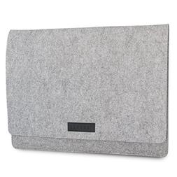 KANVASA Felt Laptop Sleeve 14-15 Inch MacBook Pro Grey Noteb