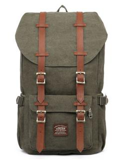 "KAUKKO Fits 15""Laptop & Tablets Outdoor Backpack Travel Hiki"