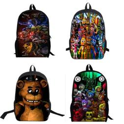 Five Nights at Freddy's Backpack Boy's Book Laptop School Sh