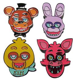 Five Nights at Freddy's: Bonnie,Freddy,Foxy,Chica Collectibl