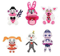 Five Nights at Freddy's - Sister Location ~ Set of 6 Charact