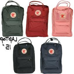 """FJALLRAVEN Kanken Laptop 15"""" Backpack STYLE No 27172  Multip"""