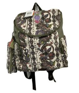 """Sakroots Fleetwood Backpack Fits 15"""" Laptop Style 108765 C"""