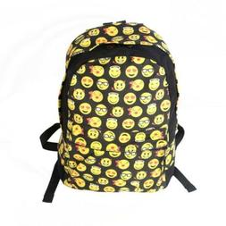 Emoji Backpack Emotion School Bags For Teenagers Girls Women