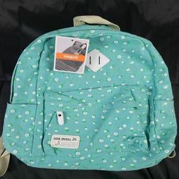 Leaper Flower Backpack For School, Laptop, or Work Light Tur