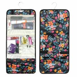 Foldable Travel Cosmetic Makeup Toiletry Hanging Carry Bag M