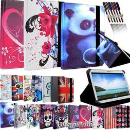 Folio Leather Stand Flip Cover Case For Various 7 inch Andro