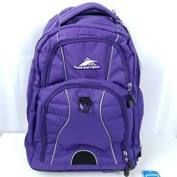 High Sierra Free Wheel Backpack Fully Padded Laptop Sleeve S