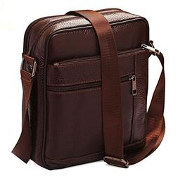 Small Genuine Leather Cross Body Messenger Bags Satchel Shou