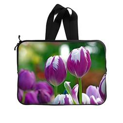 JIUDUIDODO Gift Awesome Tulips Picture New Laptop Water Resi