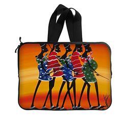 JIUDUIDODO Gifts Five Funny African Women Picture New Laptop
