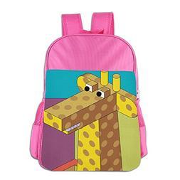 Giraffe Girls Flexurane School Bag Cute 16.23oz