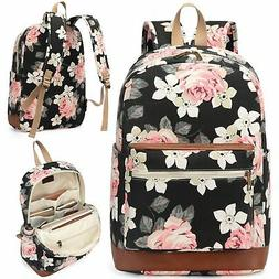 Kenox Girl's School Rucksack College Bookbag Lady Travel Bac