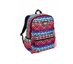 Justice Girls Multi-Tribal School Backpack Rucksack