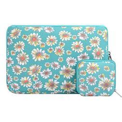 Mosiso Bohemian Style Canvas Fabric Laptop Sleeve Case Bag C