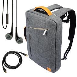 """VanGoddy Laptop Backpack Messenger Bag for 15.6"""" Dell HP Len"""