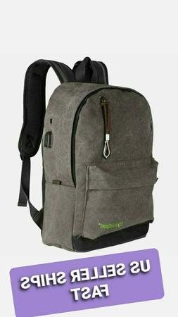 GraySport™ Laptop Backpack, Travel Computer Bag for Women