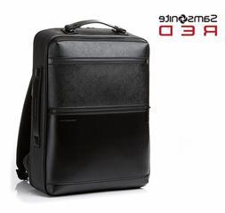SAMSONITE RED Hanfoi Backpack Leather Black DO009001 Laptop