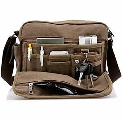 Men's Multifunctional Canvas Messenger Handbag Outdoor Sport