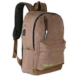 Heavy Duty Canvas Quality Backpack Lightweight Professional