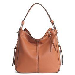 DDDH Hobo Handbags Leather Purses Large Tote Shoulder Bags V