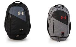 Under Armour Hustle 4.0 Backpack Choose Black or Gray NWT 15