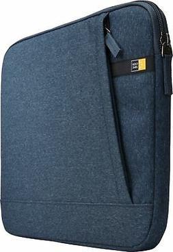 "Case Logic - Huxton Laptop Sleeve for 13.3"" Laptop - Blue Mi"