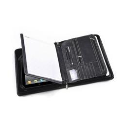 iPad Air 2 / iPad Air Zippered Padfolio w/ Writing Pad Holde