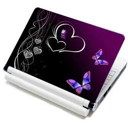 """13"""" 13.3"""" 14"""" 15"""" 15.4"""" 15.5"""" 15.6"""" 16"""" inch Purple Butterfl"""