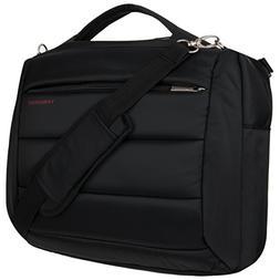 VanGoddy 2 in 1 Black Backpack + Messenger Bag for Acer Chro