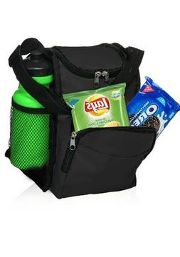 Insulated Lunch Bag with Adjustable Shoulder Strap by Sacko