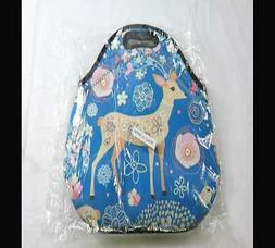 Insulated Neoprene Lunch Bag   Removable Shoulder Strap   X