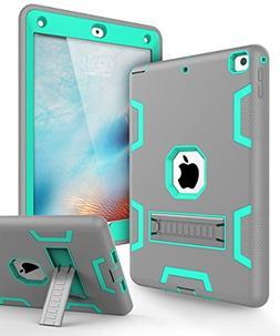 KAKA iPad 9.7 2018 Case,iPad 2018 Case,iPad 9.7 Case -Three