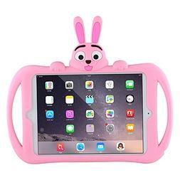 Hflong iPad Mini 2 Case, Shockproof Silicone iPad Protection