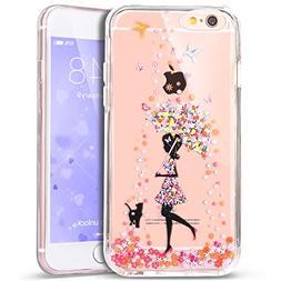 iPhone 7 Case,PHEZEN Crystal Clear Flexible TPU Hybrid Prote