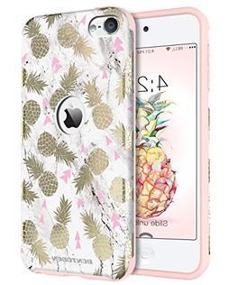 iPod 5 Case, iPod 6 Case BENTOBEN Pineapple Design Case for