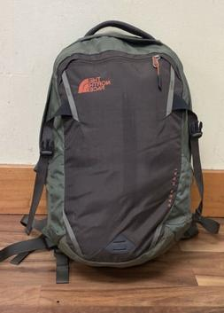 THE NORTH FACE IRON PEAK DAY BACKPACK GREEN/BROWN EXCELLENT