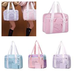 Ita Bag Heart Girls Large Laptop Purse School Bags for Cospl