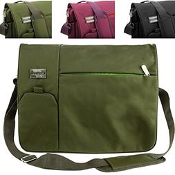 Italey Everyday Laptop Tablet Carrying Messenger Bag  For Le