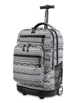 J World New York Sundance Laptop Rolling Backpack Tribal