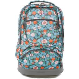 "J World Sunburst 20"" Rolling Laptop Backpack"