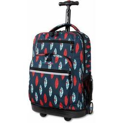 J World Sundance Laptop Rolling Backpac Indi