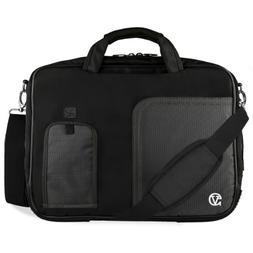 VanGoddy Jet Black Laptop Bag for HP Pavilion/ProBook/ENVY/Z