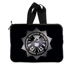 JIUDUIDODO Custom Agents of S.H.I.E.L.D Neoprene Laptop Slee