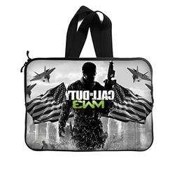 "JIUDUIDODO Custom Call of Duty Neoprene Laptop Sleeve 14"" La"