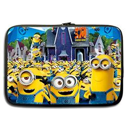JIUDUIDODO Custom Despicable Me Water Resistant Neoprene Com